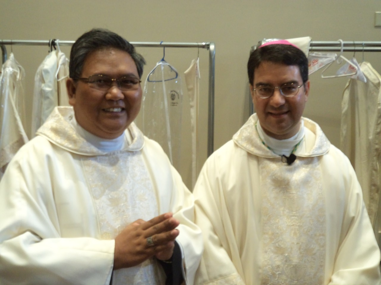 FR. ABE WITH BISHOP OSCAR CANTU 2