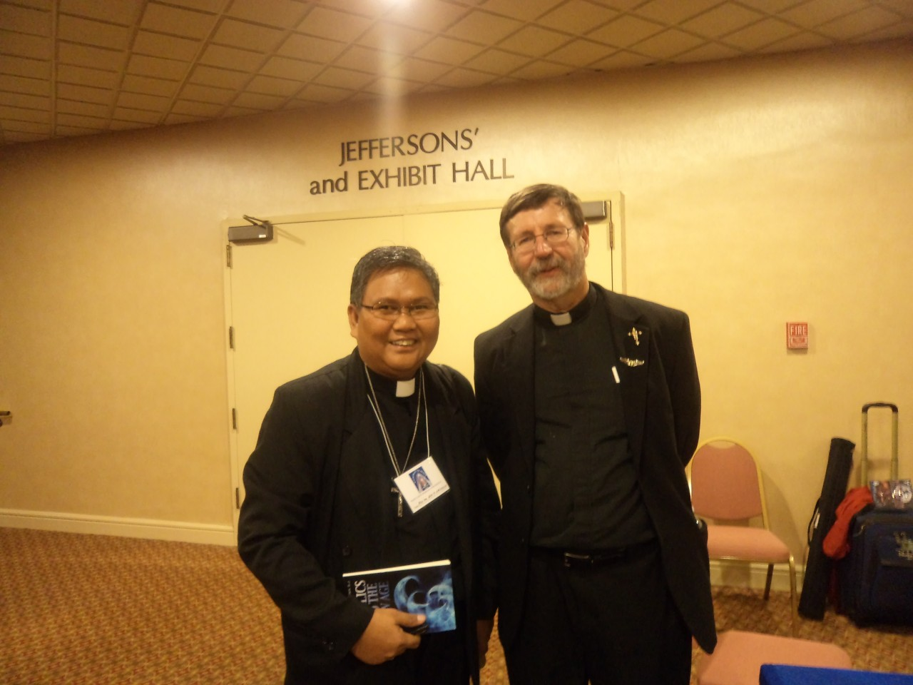 FR. ABE WITH FR. MITCH PACWA, S.J. renown Apologist, TV host and Author