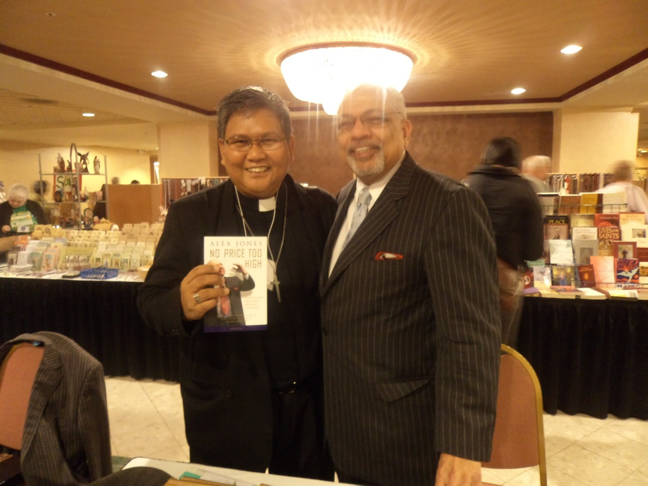 FR. ABE WITH DEACON ALEX JONES, Renown Catholic Speaker, Author and Former Pentecostal Minister