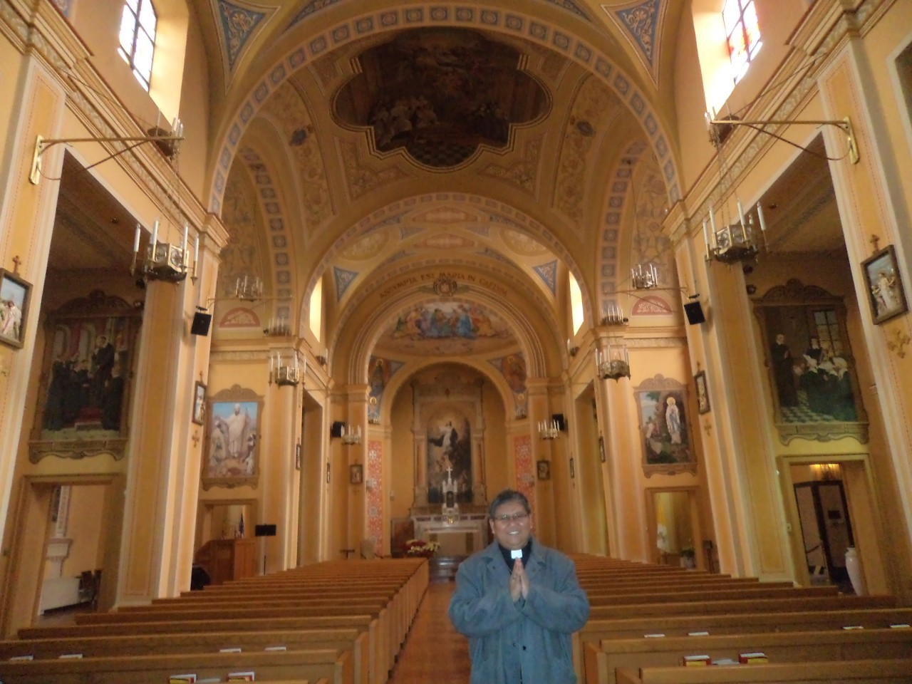 FR. ABE IN U.S. NATIONAL SHRINE OF THE MIRACULOUS MEDAL 2