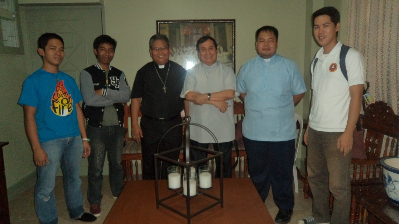 CFD TARLAC OFFICERS WITH BISHOP FLORENTINO CINENSE OF TARLAC