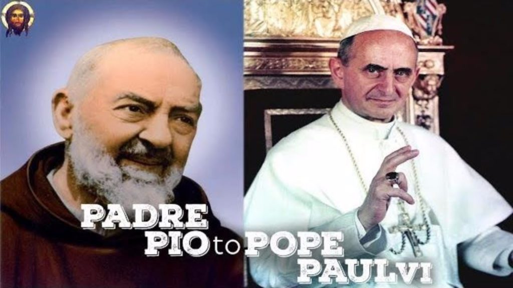 """REFUTING THE SSPX CLAIMS ON """"PADRE PIO AND THE NOVUS ORDO"""
